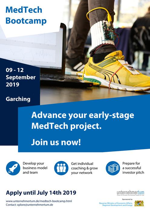 MedTech Bootcamp 2019 @UnternehmerTUM