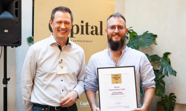 Wayra unter die drei besten Innovation-Labs Deutschlands gewählt