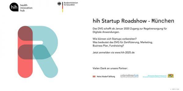 hih Startup Roadshow