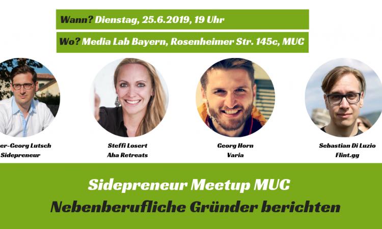 2. Sidepreneur Meetup in München