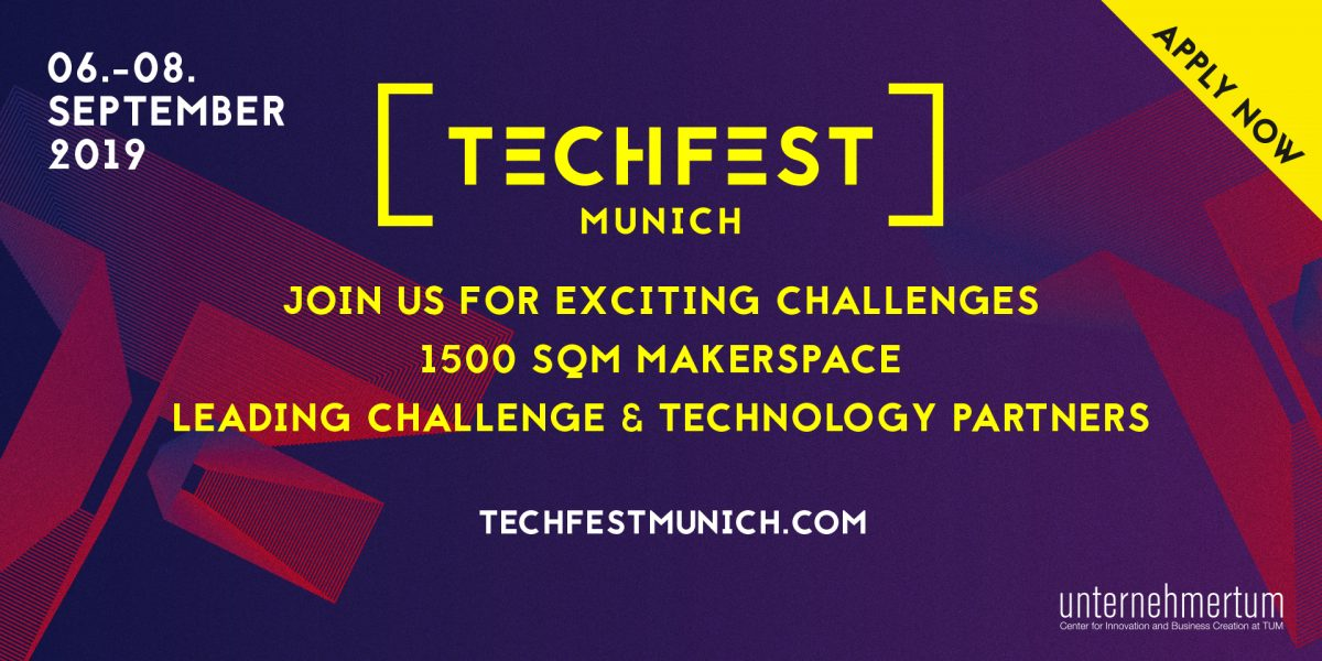 TECHFEST Munich 2019