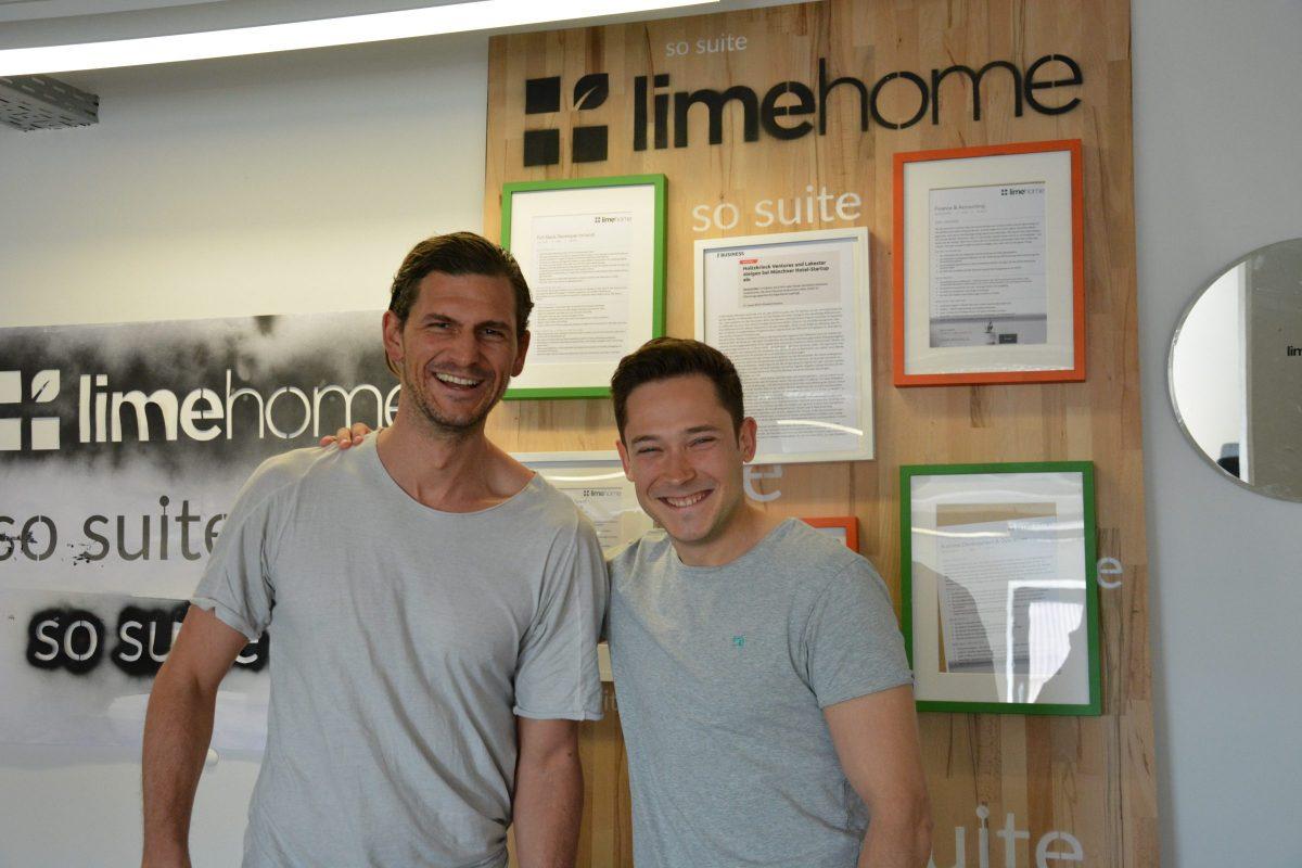 Limehome Gründerteam