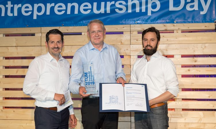 Scintomics gewinnt den TUM Entrepreneurship Award