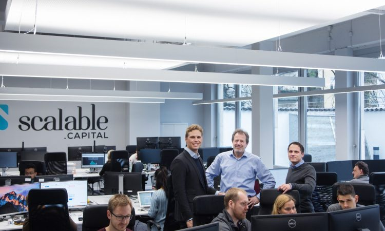 Münchner Fintech-Startup Scalable Capital