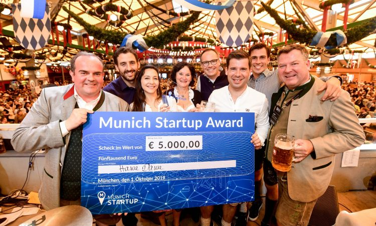 Munich Startup Award 2019 - Hawa Dawa