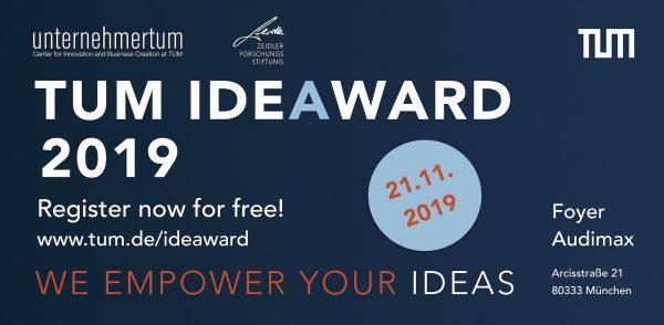 TUM IdeAward 2019