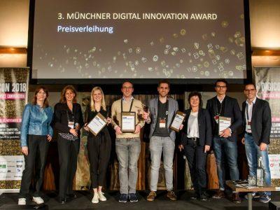 4. Münchner Digital Innovation Award: Jetzt bewerben