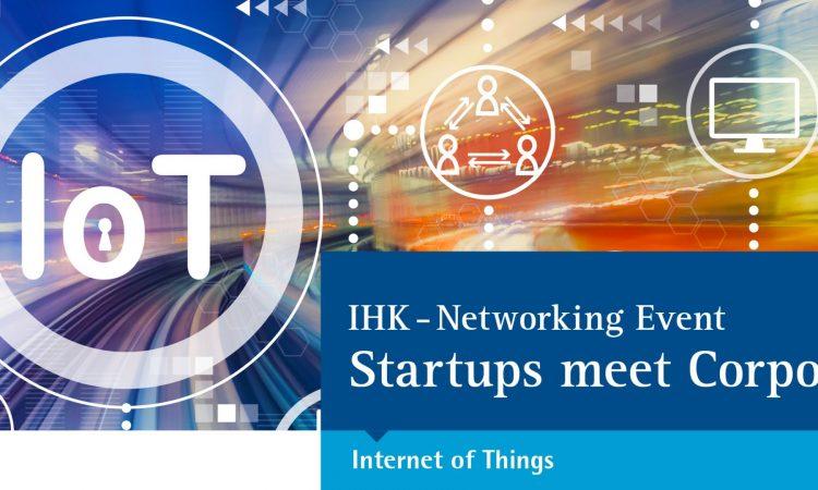 Startups meet Corporates (IoT)