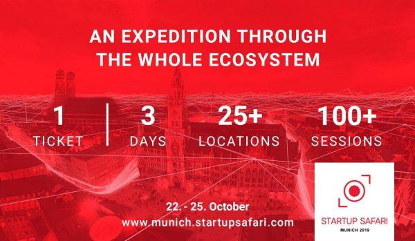 Startup SAFARI Munich 2019