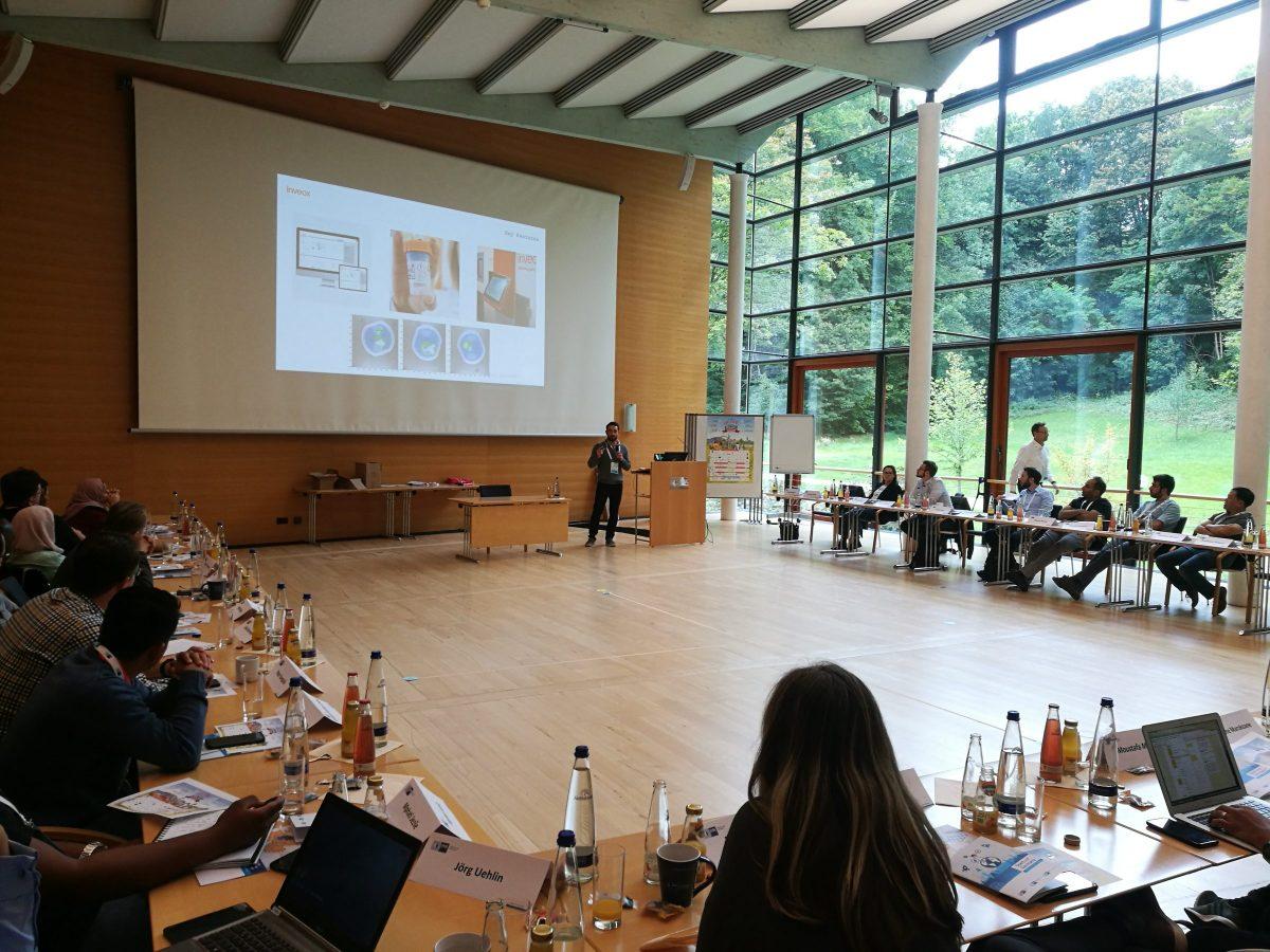 Begrüßungsveranstaltung der IHK Startup Germany 2019 in der IHK Akademie Westerham