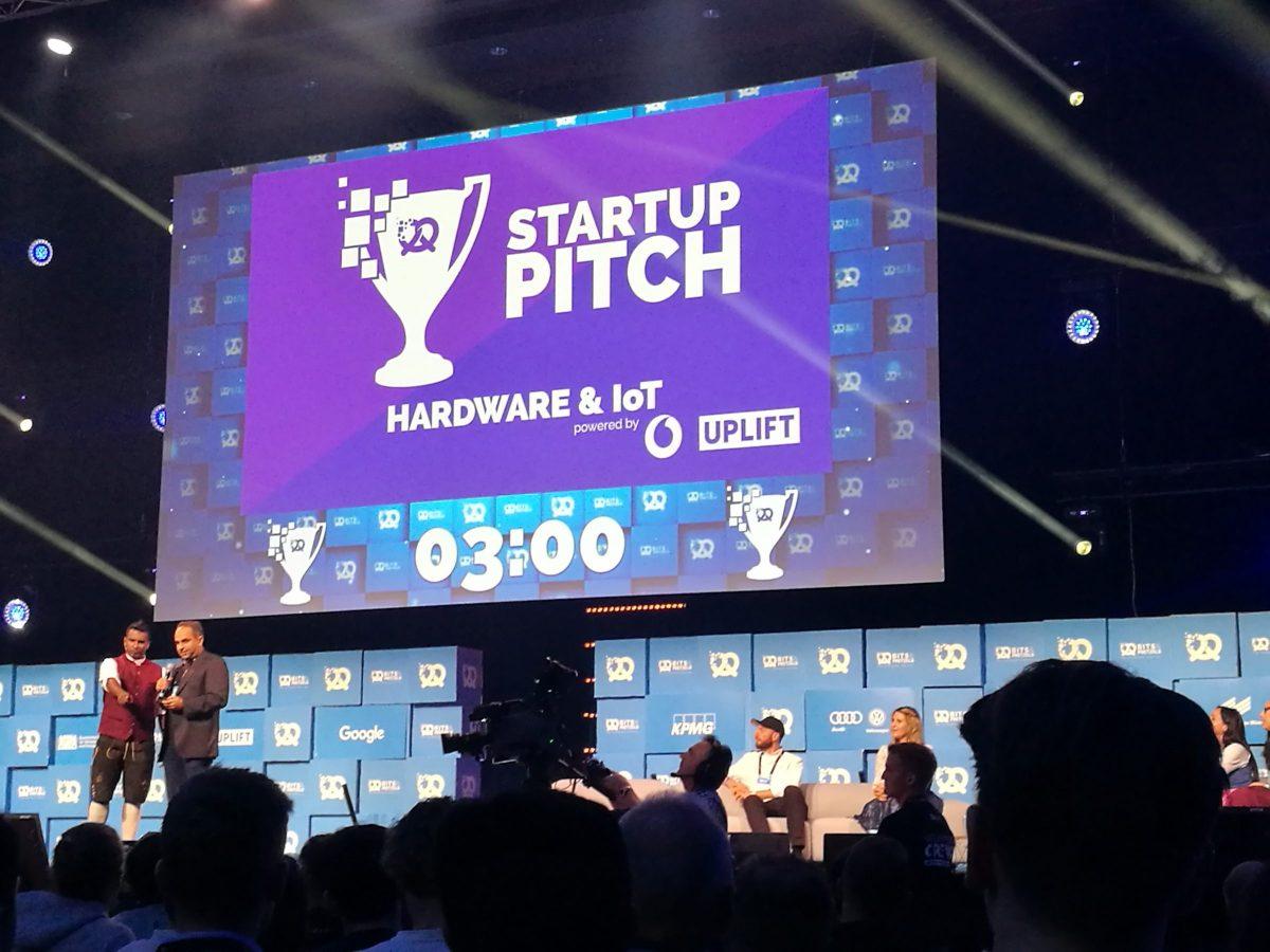 Startup Pitche Contest auf der Bits and Pretzels