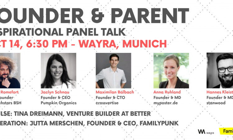 Founder & Parent - After Work Talk and Panel