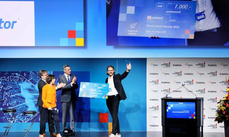 Gerotor gewinnt 'Startup Award Maschinenbaugipfel 2019'