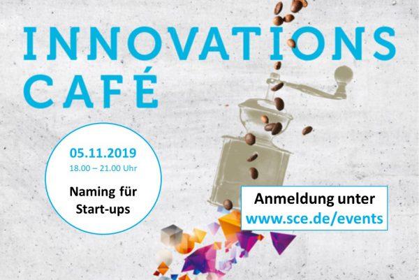Innovations-Café: Naming für Startups - Erfolgreiche Namensfindung