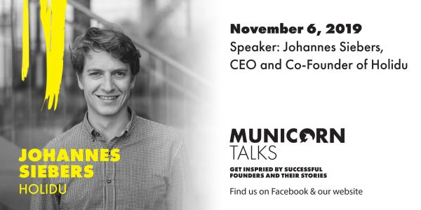 Municorn Talks, Johannes Siebers, Co-Founder and CEO of Holidu