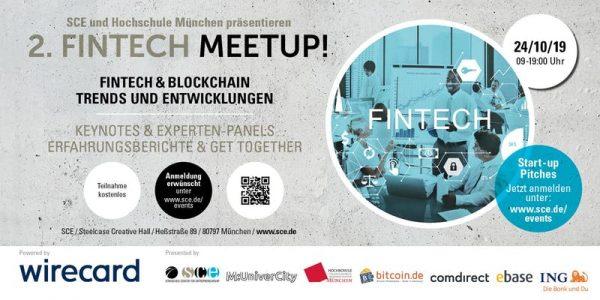 2. FINTECH MEETUP: Fintech & Blockchain - Keynotes, Panels & Get Together