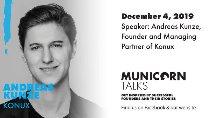 Municorn Talks, Andreas Kunze