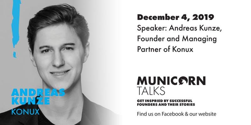 Municorn Talks, Andreas Kunze