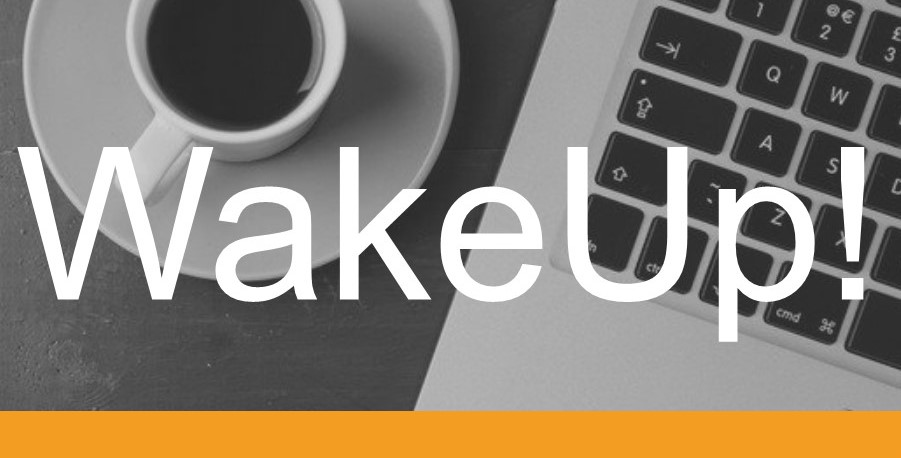 WakeUp! 4 Entscheidungen, 3 Regeln, 2 Treiber, 1 Katalysator