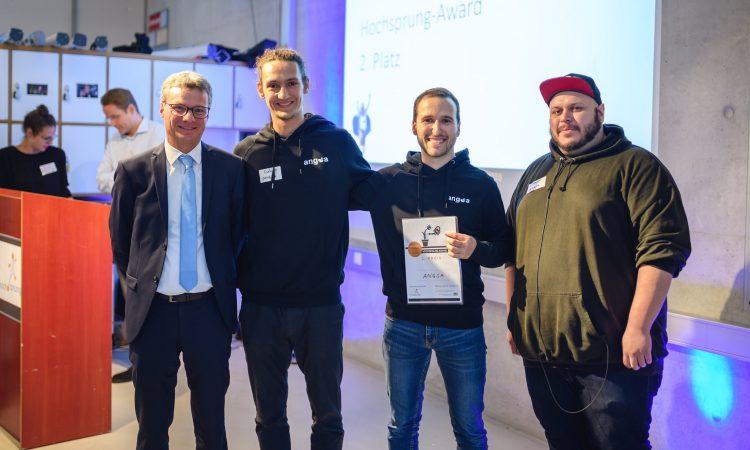 Die Zweitplatzierten des Hochsprung-Awards 2019