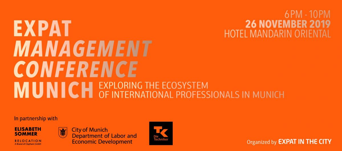 Expat in the City: Expat Management Conference Munich