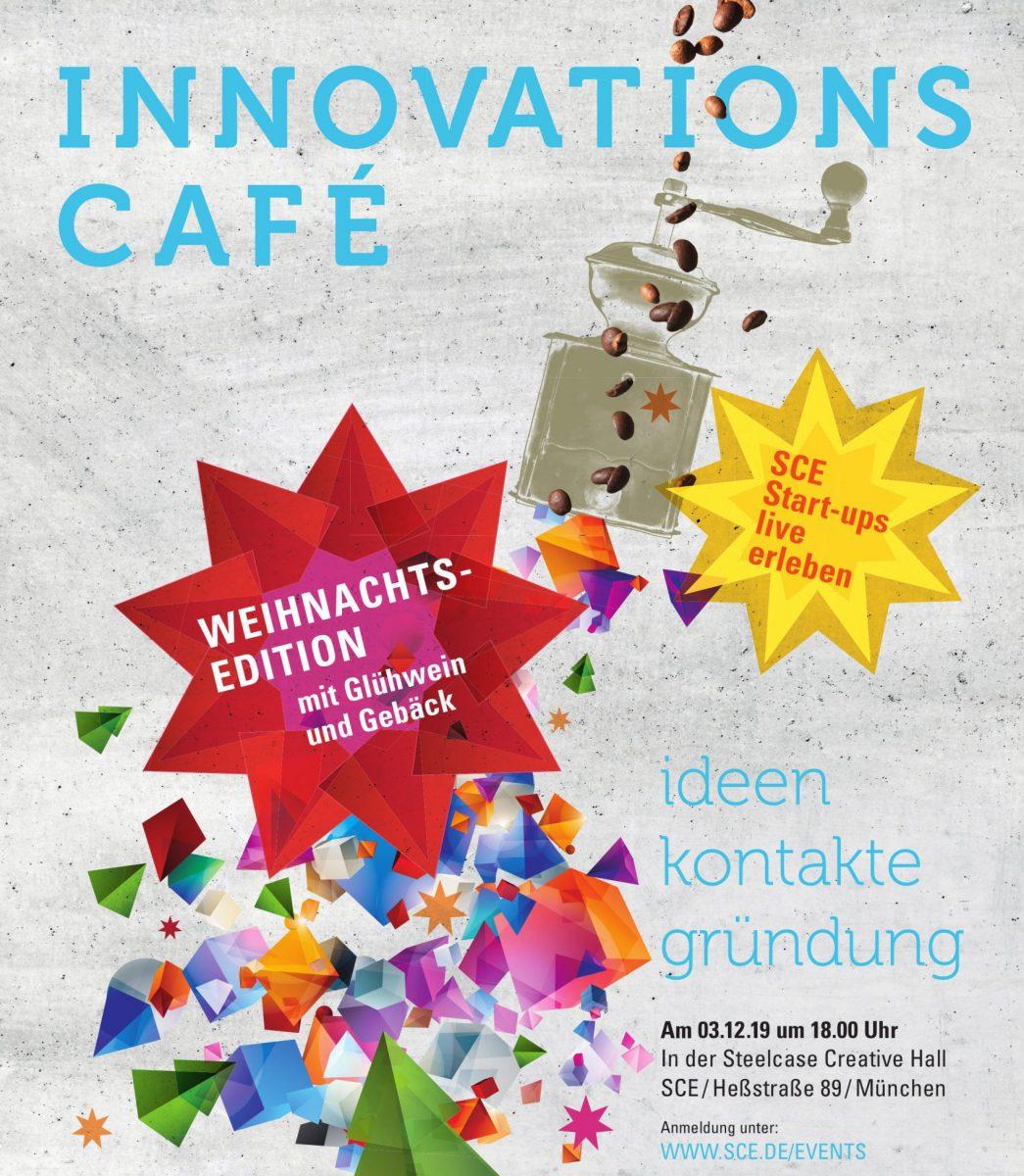 Innovations-Café: Weihnachtsedition - SCE Startups live erleben