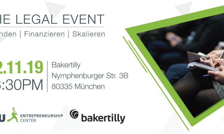 The Legal Event - Kooperationsevent LMU EC & Baker Tilly