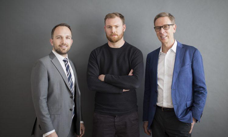 Die Gründer von Ottonova Frank Birzle, Sebastian Scheerer und Roman Rittweger (v.l.)