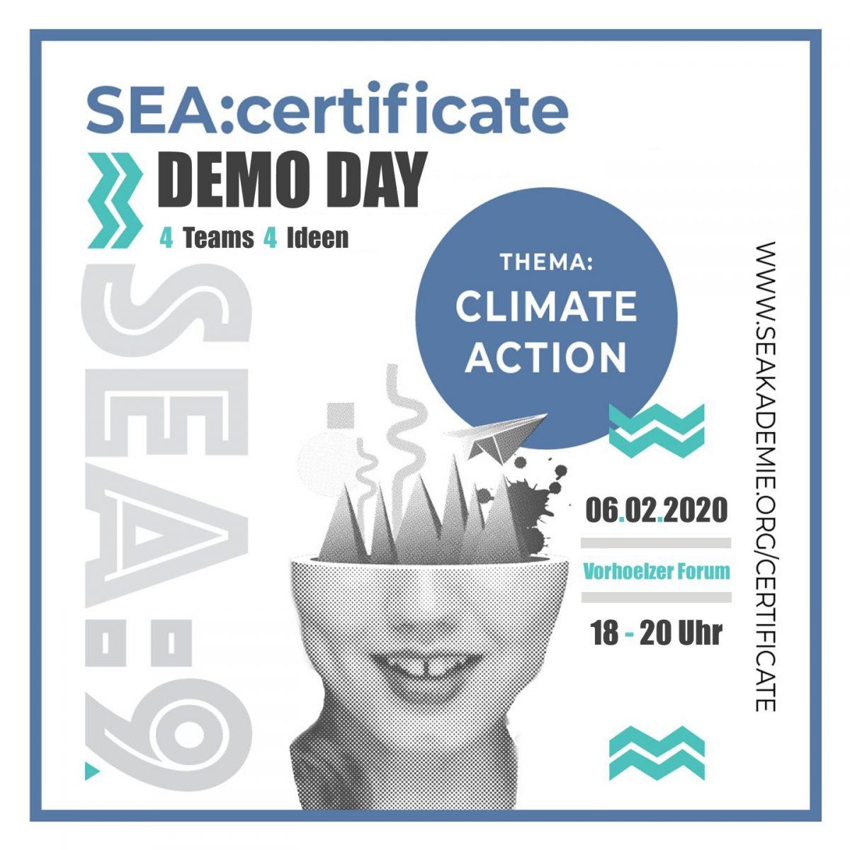DEMO DAY des SEA:certificate