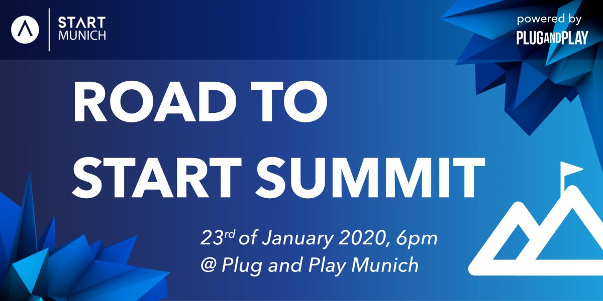 Road to START Summit 2020 by START Munich & Plug and Play