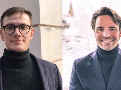 Linus Kohl und Robin Betz von AlignaTeam (v.l.)