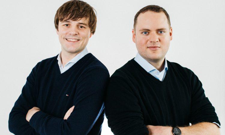 Die Agrando-Gründer Jonathan Bernwieser und Jonas Hueber (v.l.)