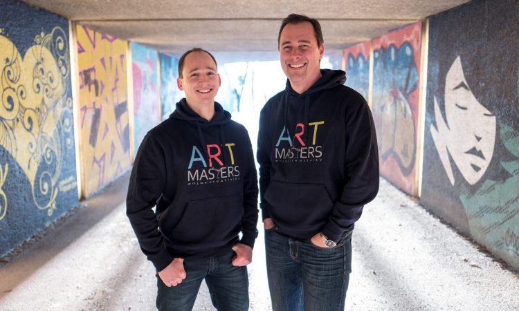 Artmasters Gründer Oliver Breiter und Alexander Eloe