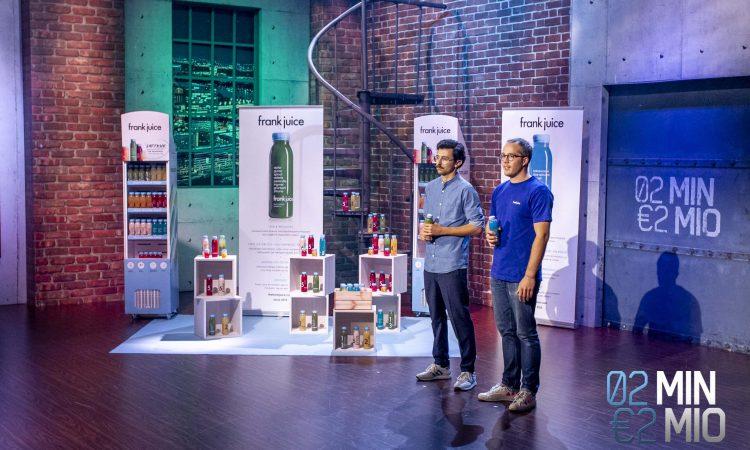 Frank Juice: Erfolgreich in österreichischer Startup-Show