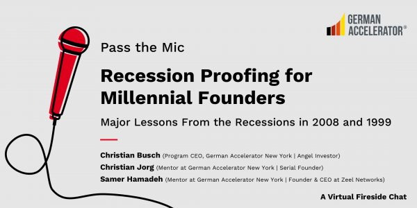 Recession Proofing for Millennial Founders: Major Lessons from the 2008 and 1999 Recessions