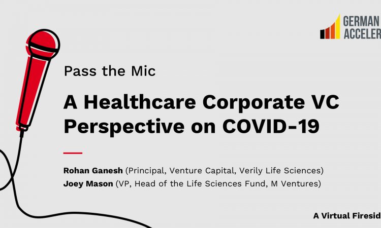 A Healthcare Corporate VC Perspective on COVID-19