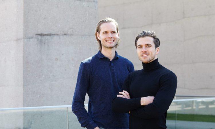 Die Luminovo-Gründer Timon Ruban und Sebastian Schaal (v.l.)