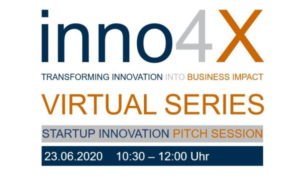inno4X STARTUP INNOVATION PITCH SESSION
