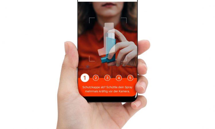 Visionhealth bekommt 1 Million für Inhalations-App