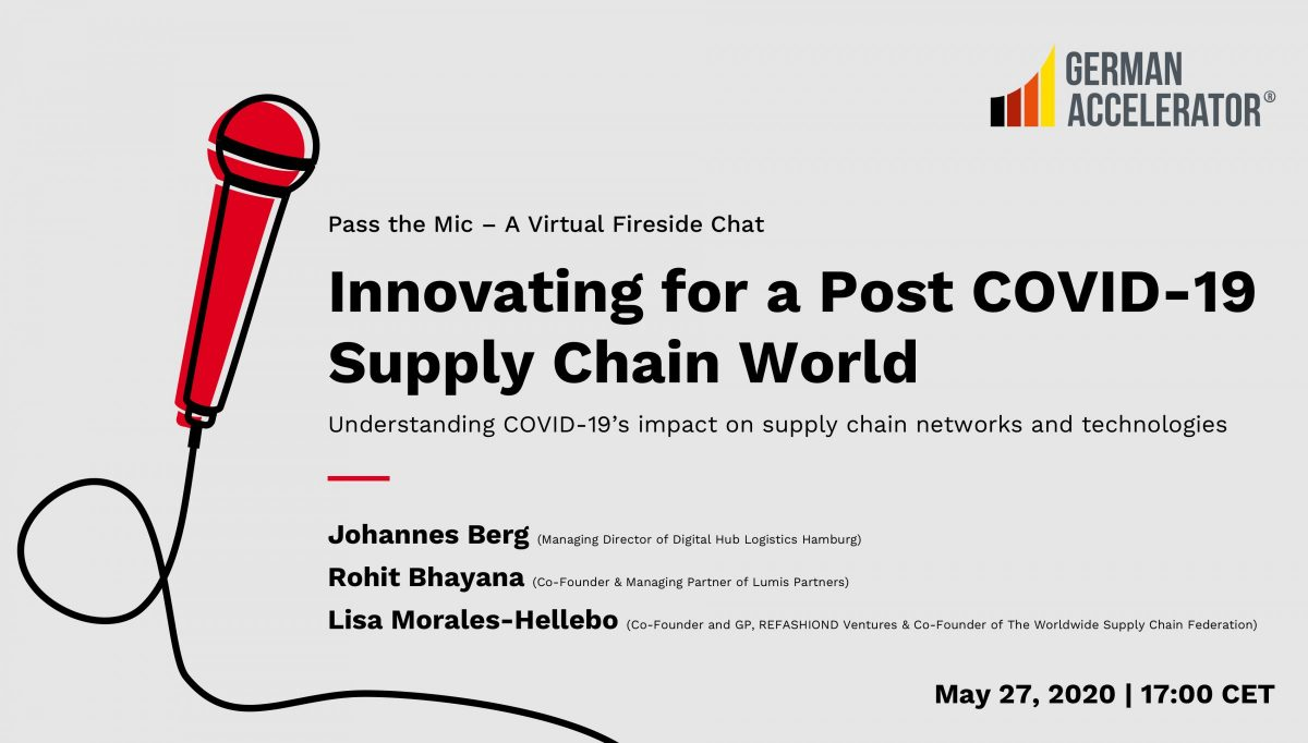 Pass the Mic - Innovating for a Post COVID-19 Supply Chain World - A Virtual Fireside Chat