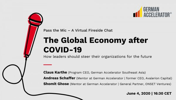 Pass the Mic: The Global Economy after COVID-19