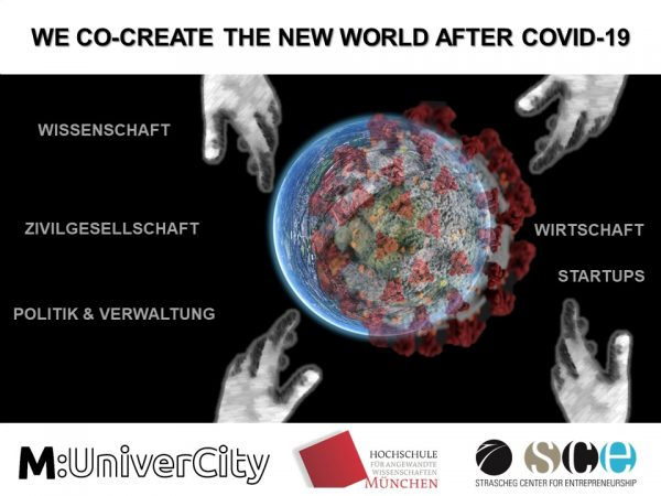 We co-create the new world after Covid-19 (virtueller Workshop)