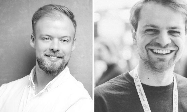 Die Heydata-Gründer Daniel Deutsch und Miloš Djurdjević (v.l.)