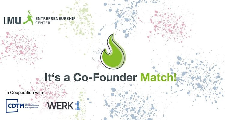 It's a Co-Founder Match! Vol.4 - Online Edition