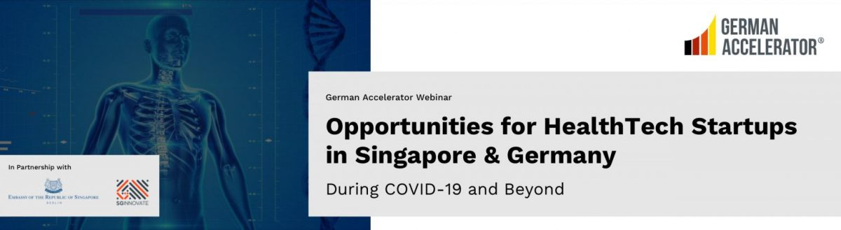 German Accelerator HealthTech Singapore Germany