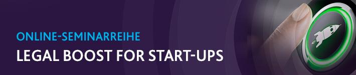 Legal Boost for Startups: WRAP UP - Website, Datenschutz & Exit