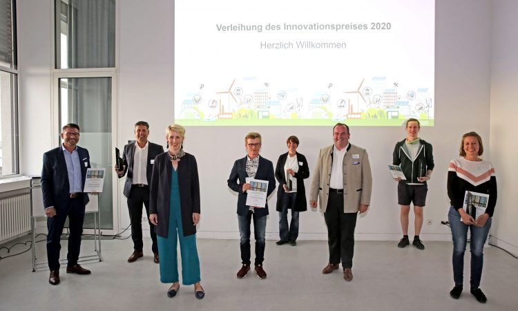 Innovationspreis 2020: Gewinnerteams gekürt