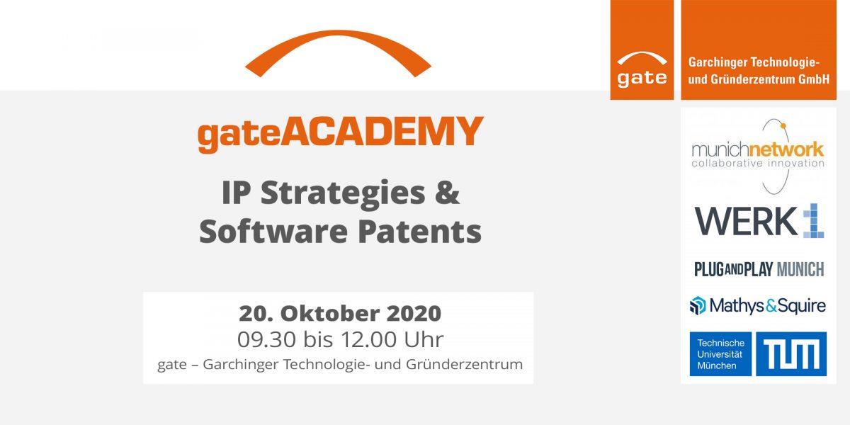 gateACADEMY: IP Strategies & Software Patents