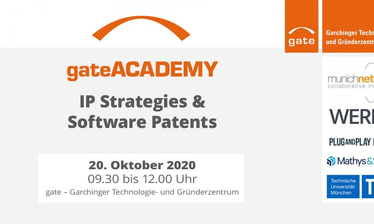 gateACADEMY: IP Strategies & Software Patents