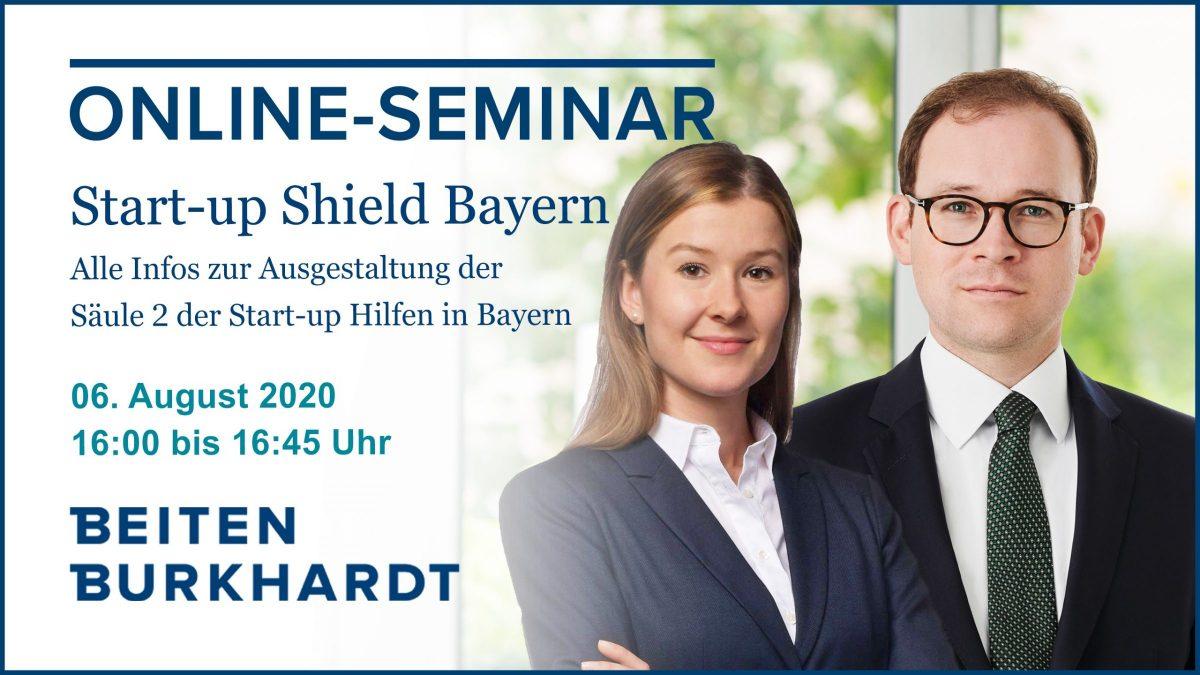 Online: Start-up Shield Bayern